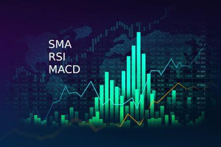 如何在 Binomo 中连接 SMA、RSI 和 MACD 以获得成功的交易策略