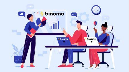 如何在 Binomo 登录并开始交易