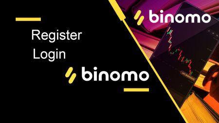 如何在 Binomo 中注册和登录帐户