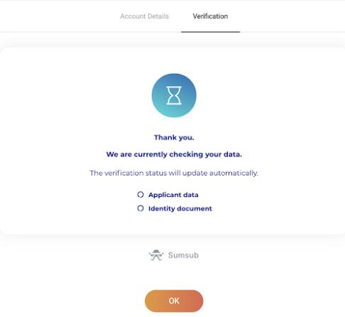 如何在 Binomo 中注册和验证帐户